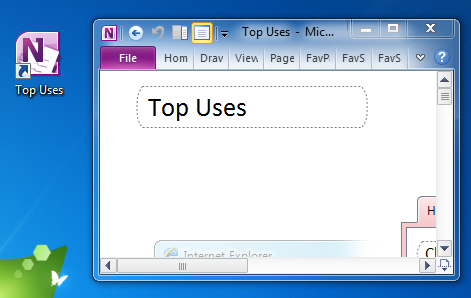 Mini OneNote