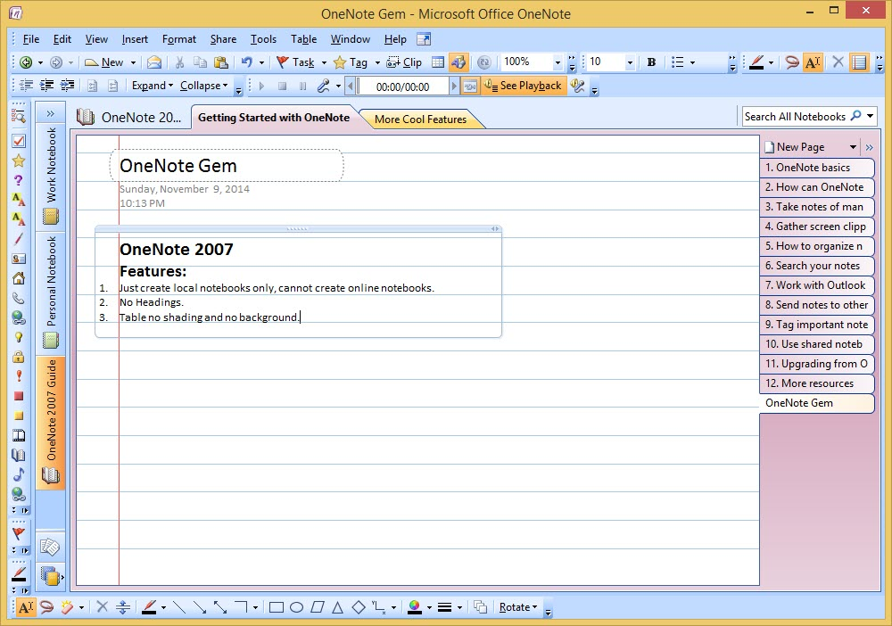 free download onenote 2007 full version